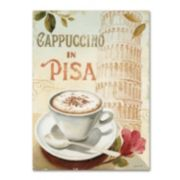 Trademark Fine Art Cafe in Europe IV Canvas Wall Art