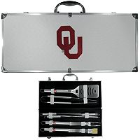 Oklahoma Sooners 8 pc BBQ Set