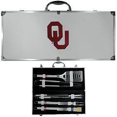 Oklahoma Sooners 8 pc BBQ Set