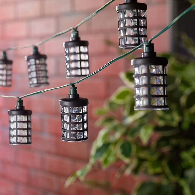 Kohl S Patio String Lights : Smart Living Amalia 20-Light LED Solar String Lights, Black Shop Your Way: Online Shopping ...
