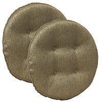 The Gripper Omega Tufted Bar Stool Chair Pad 2-pk.