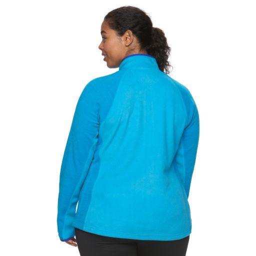 Plus Size Tek Gear® Full-Zip Fleece Jacket