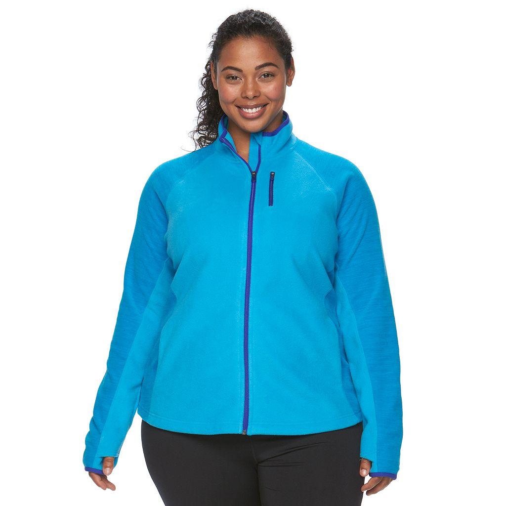 Plus Size Tek Gear¨ Full-Zip Fleece Jacket