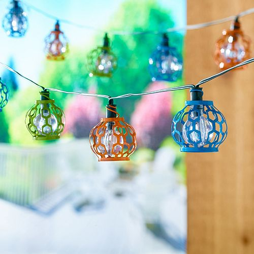 Smart Living Gala 20-Light LED Solar String Lights