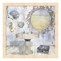 Metaverse Art Beach House II Framed Wall Art