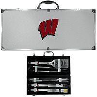 Wisconsin Badgers 8-Piece BBQ Set