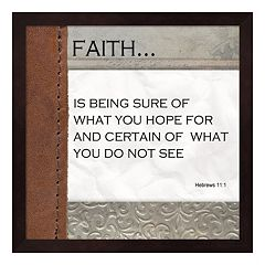 Metaverse Art 'Faith' Framed Wall Art