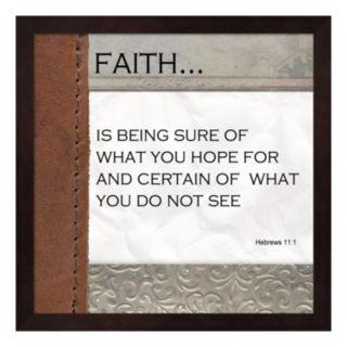 """Metaverse Art """"Faith"""" Framed Wall Art"""