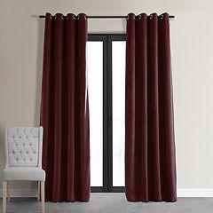EFF Signature Velvet Blackout Window Curtain