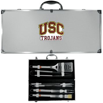 USC Trojans 8-Piece BBQ Set