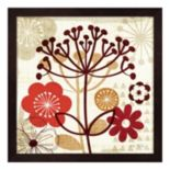 Metaverse Art Floral Pop II Framed Wall Art