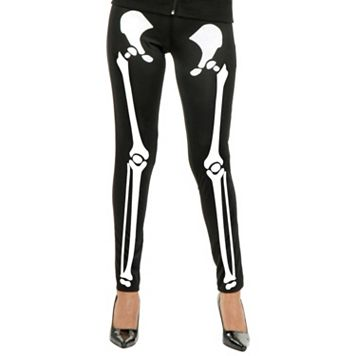 Adult Skeleton Bones Leggings