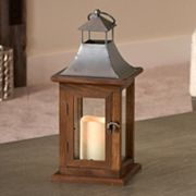 Smart Living Portland 14 in LED Candle Lantern