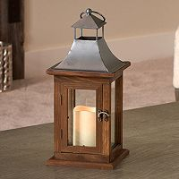 Smart Living Portland 14-in. LED Candle Lantern