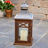 Smart Living Portland 17 in LED Candle Lantern