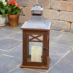 Smart Living Portland 17-in. LED Candle Lantern