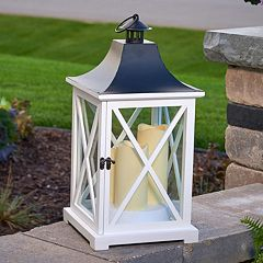 Smart Living York Triple LED Candle Lantern