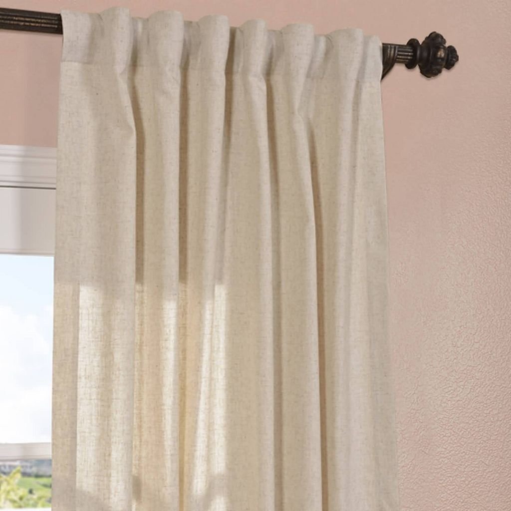EFF Hilo Solid Curtain