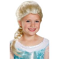 Disney's Frozen Elsa Kids Costume Wig