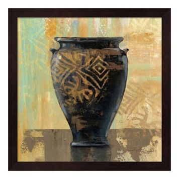 Metaverse Art Glazed Pot III Framed Wall Art