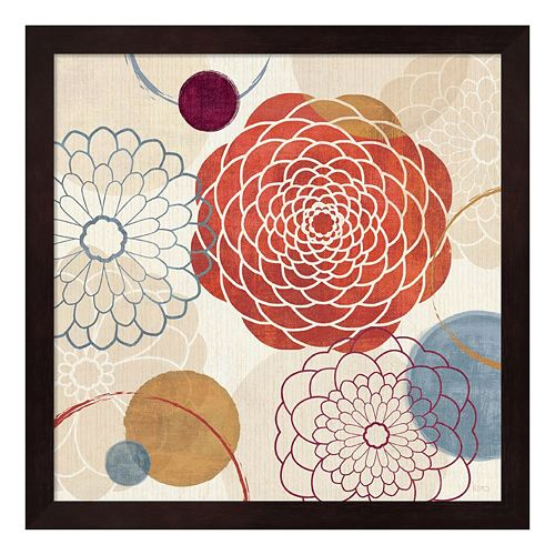 Metaverse Art Abstract Bouquet I Framed Wall Art