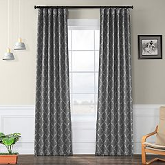 EFF Blackout 1-Panel Seville Window Curtain