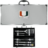 Miami Hurricanes 8-Piece BBQ Set
