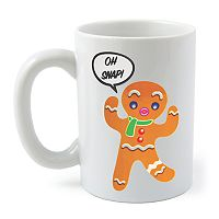 BigMouth Inc. Color Changing Gingerbread Man Mug