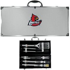 Louisville Cardinals 8-Piece BBQ Set