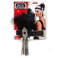Adult Flapper Roaring 20s Deluxe Costume Headband