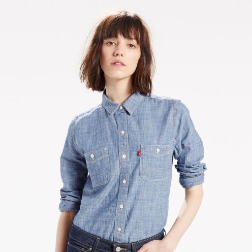 Women's Levi's Boyfriend Chambray Shirt