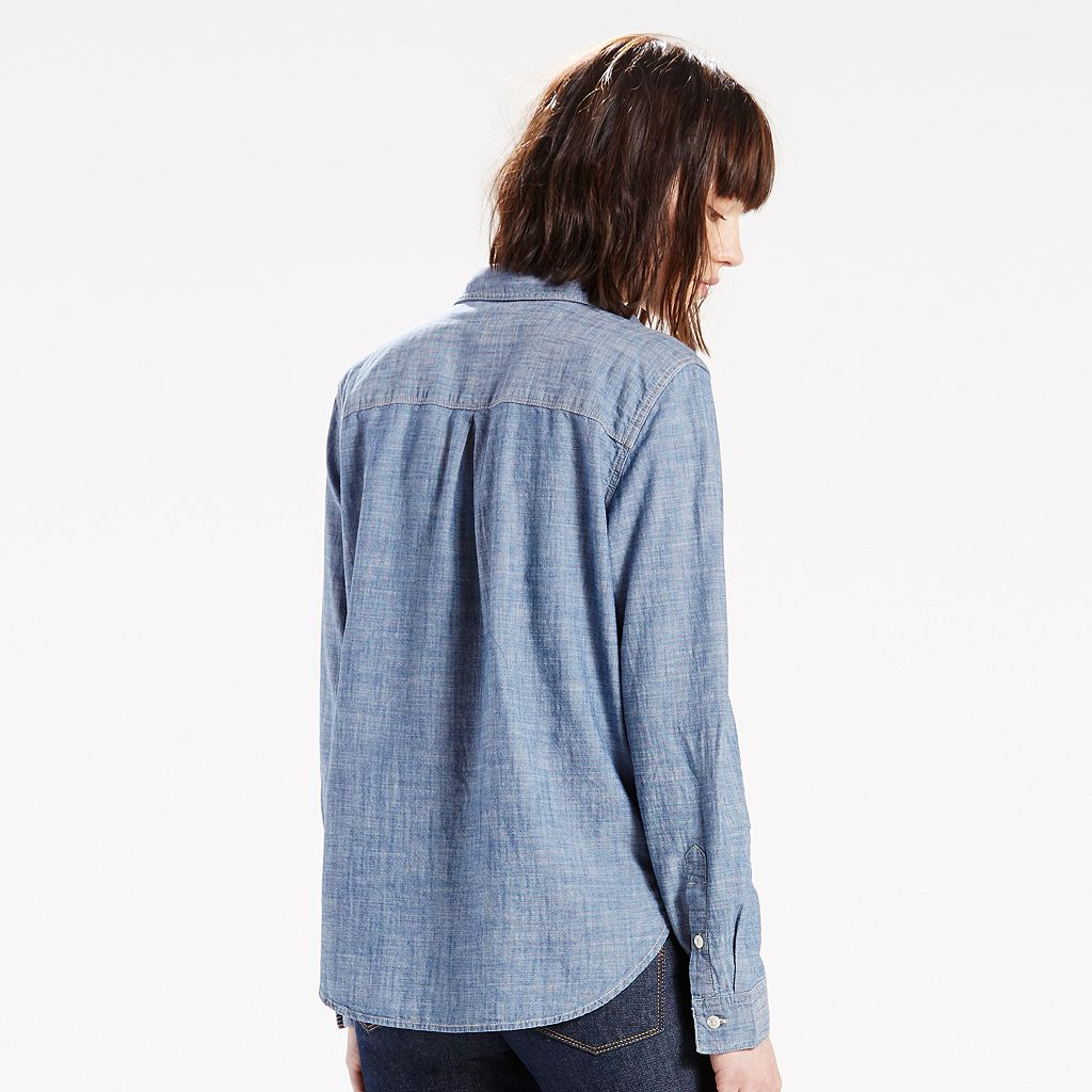 Women's Levi's Boyfriend Chambray Shirt