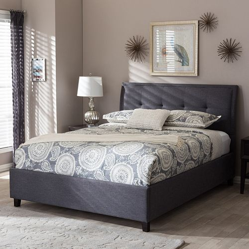 Baxton Studio Lea Queen Platform Bed