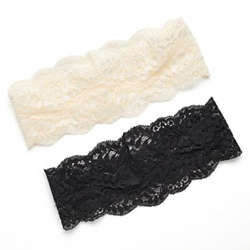 Mudd® 2-pc. Floral Lace Head Wrap Set