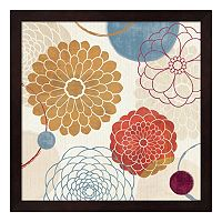 Metaverse Art Abstract Bouquet II Framed Wall Art