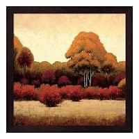 Metaverse Art Autumn Forest I Framed Wall Art