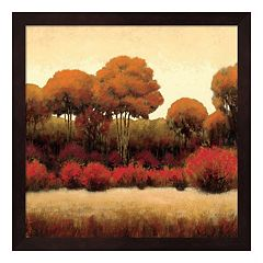 Metaverse Art Autumn Forest II Framed Wall Art