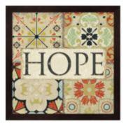 Metaverse Art Spice Santorini II Hope Framed Wall Art
