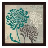 Metaverse Art Chrysanthemums I Framed Wall Art