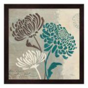 Metaverse Art Chrysanthemums II Framed Wall Art