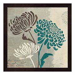 Metaverse Art Chrysanthemums II Framed Wall Art