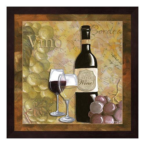 Metaverse Art Wine 9 Framed Wall Art