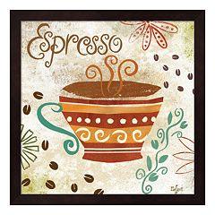 Metaverse Art Colorful Coffee III Framed Wall Art