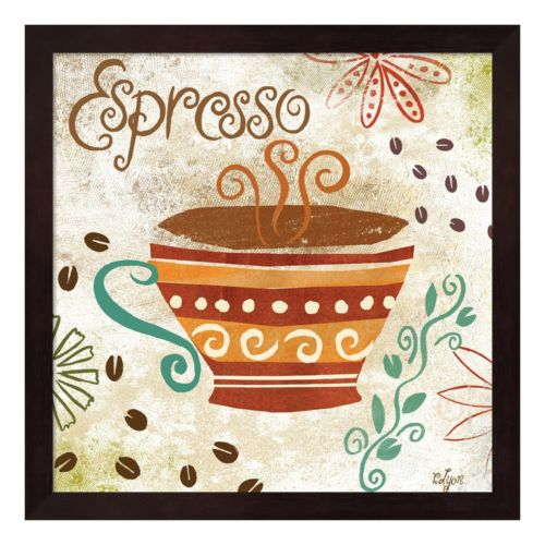 Metaverse Art Colorful Coffee III Framed Wall Art