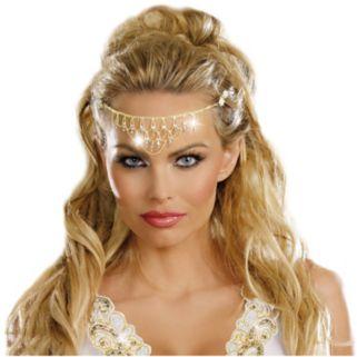 Adult Glittering Rhinestone Costume Headpiece