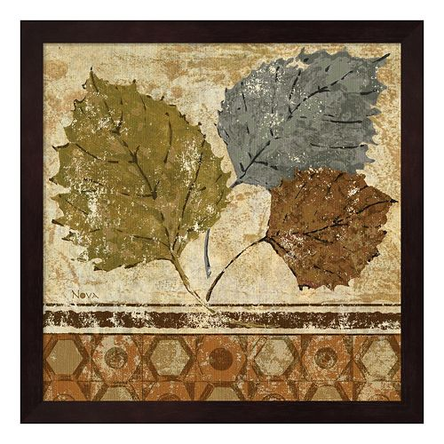 Metaverse Art Golden Autumn I Framed Wall Art