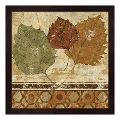 Metaverse Art Golden Autumn II Framed Wall Art