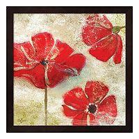Metaverse Art Poppy Passion I Framed Wall Art