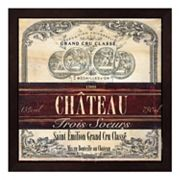 Metaverse Art Grand Vin Wine Label II Framed Wall Art