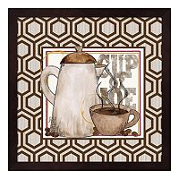 Metaverse Art Modern Coffee I Framed Wall Art